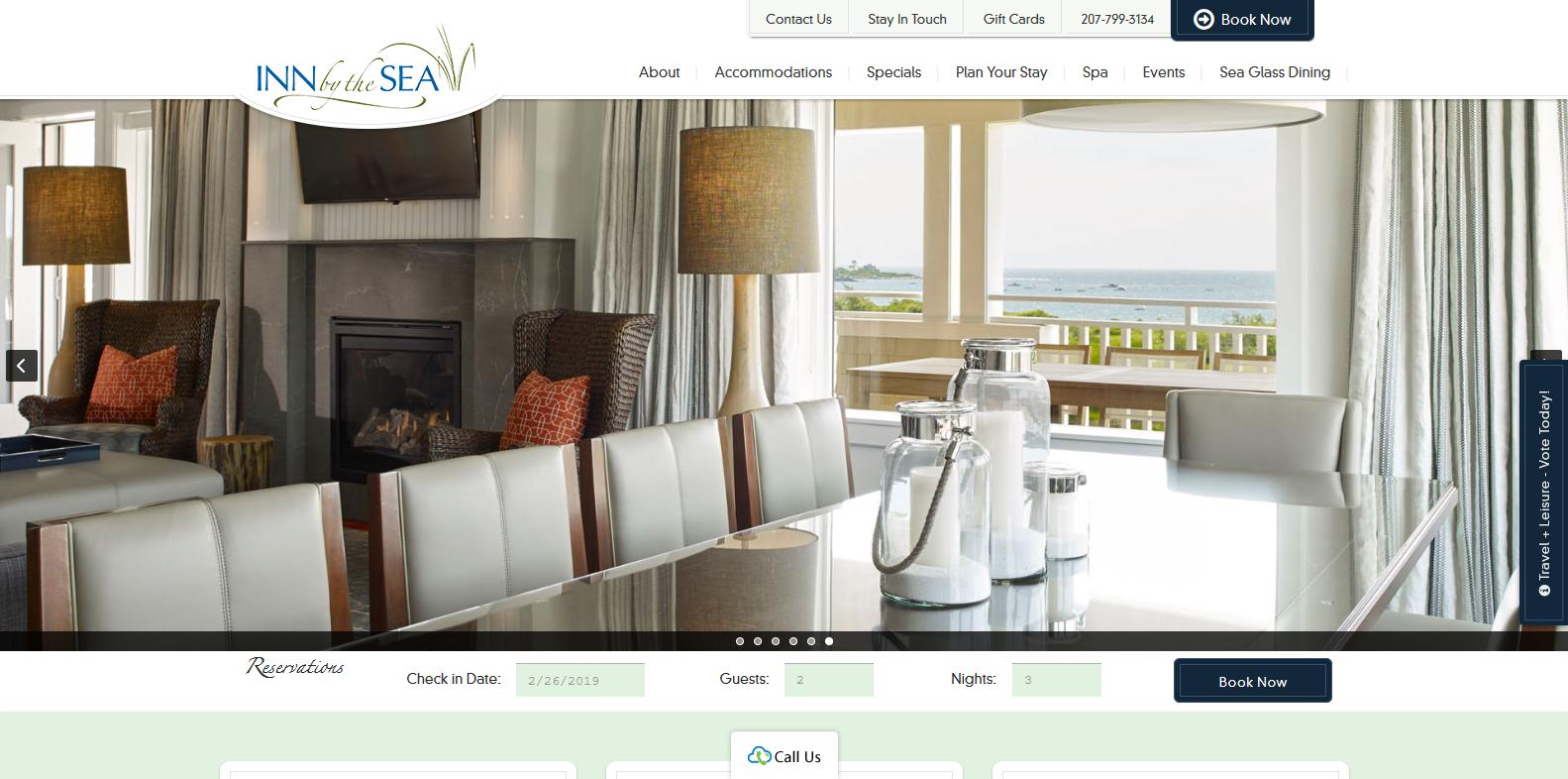 Custom Designed Hotel Websites | Flylight Media